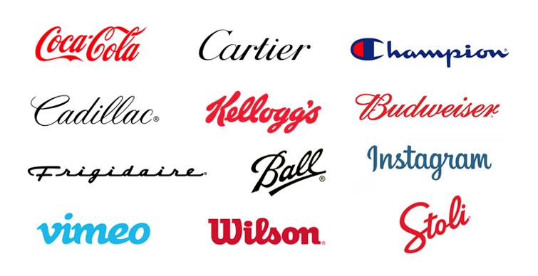 logo wordmarks
