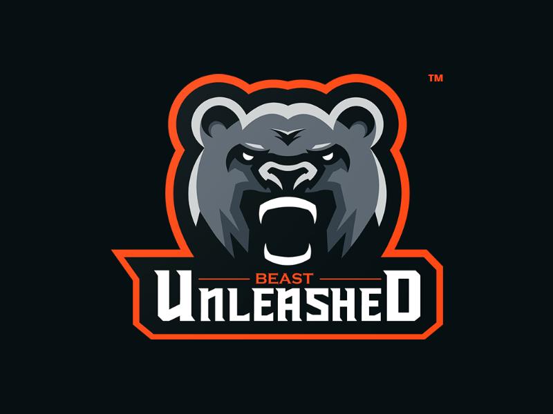 logo con gấu mascot