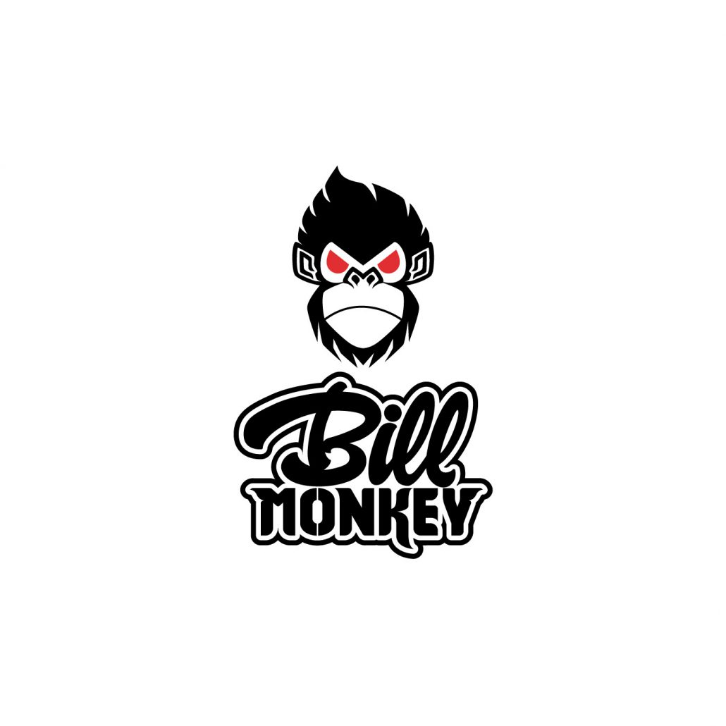 logo con khỉ hung dữ